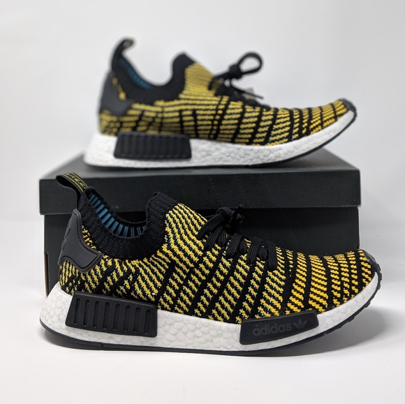 timeless design 168ad 40801 NEW ADIDAS NMD_R1 STLT PK HORNET YELLOW NWT